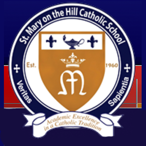St. Mary on the Hill Catholic School Logo
